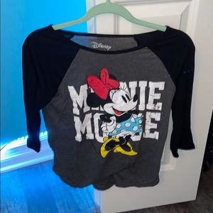 Minnie Mouse 3/4 sleeve tee from Disney